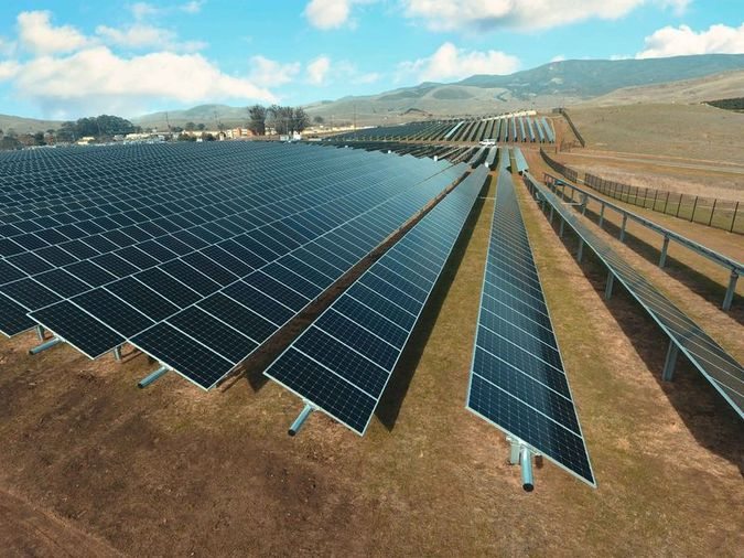 Gold Tree Solar Farm   Photo by Cal Poly News