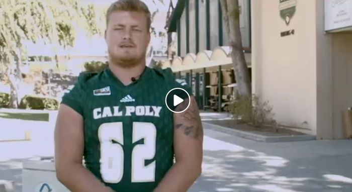 Cal Poly Football Player