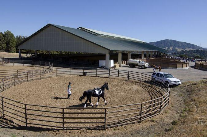 Oppenheimer Family Equine Center   Photo Cal Poly Corporation