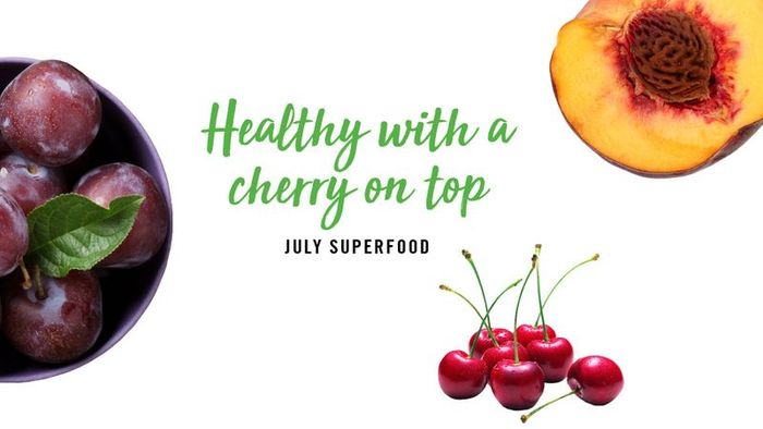 Healthy With a Cherry on Top