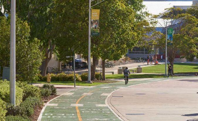 Cal Poly Campus Walkway
