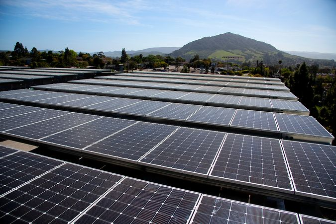Photo of the yakʔitʸutʸu Student Housing Solar Project