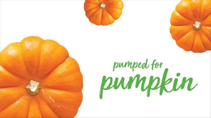 Pumped for Pumpkin