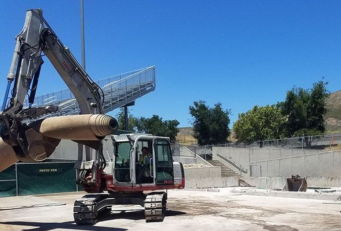 Baggett Stadium Enhancement Project   Photo by Go Poly