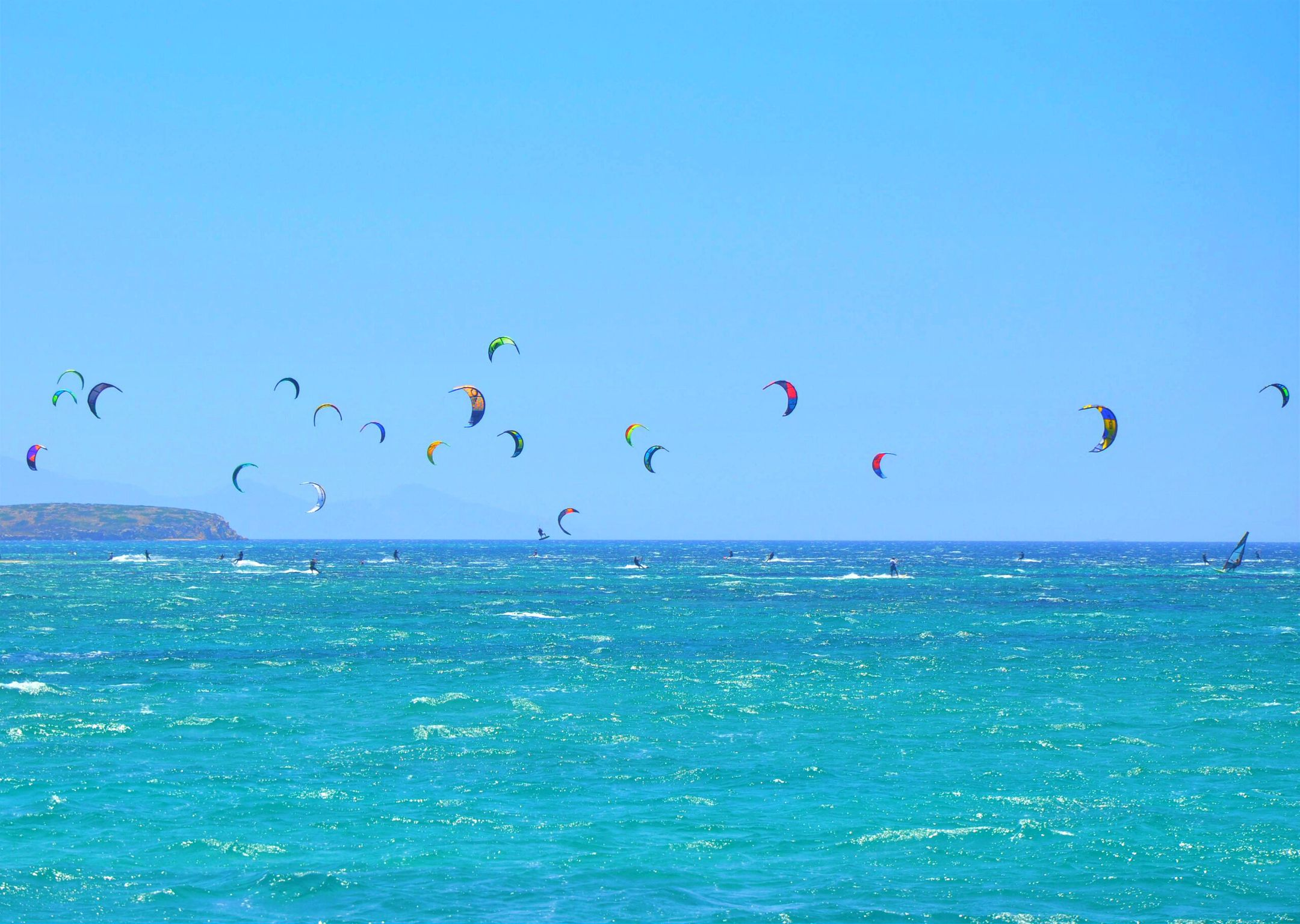 kitesurfing Greece kitespot Paros ripatrip travel big