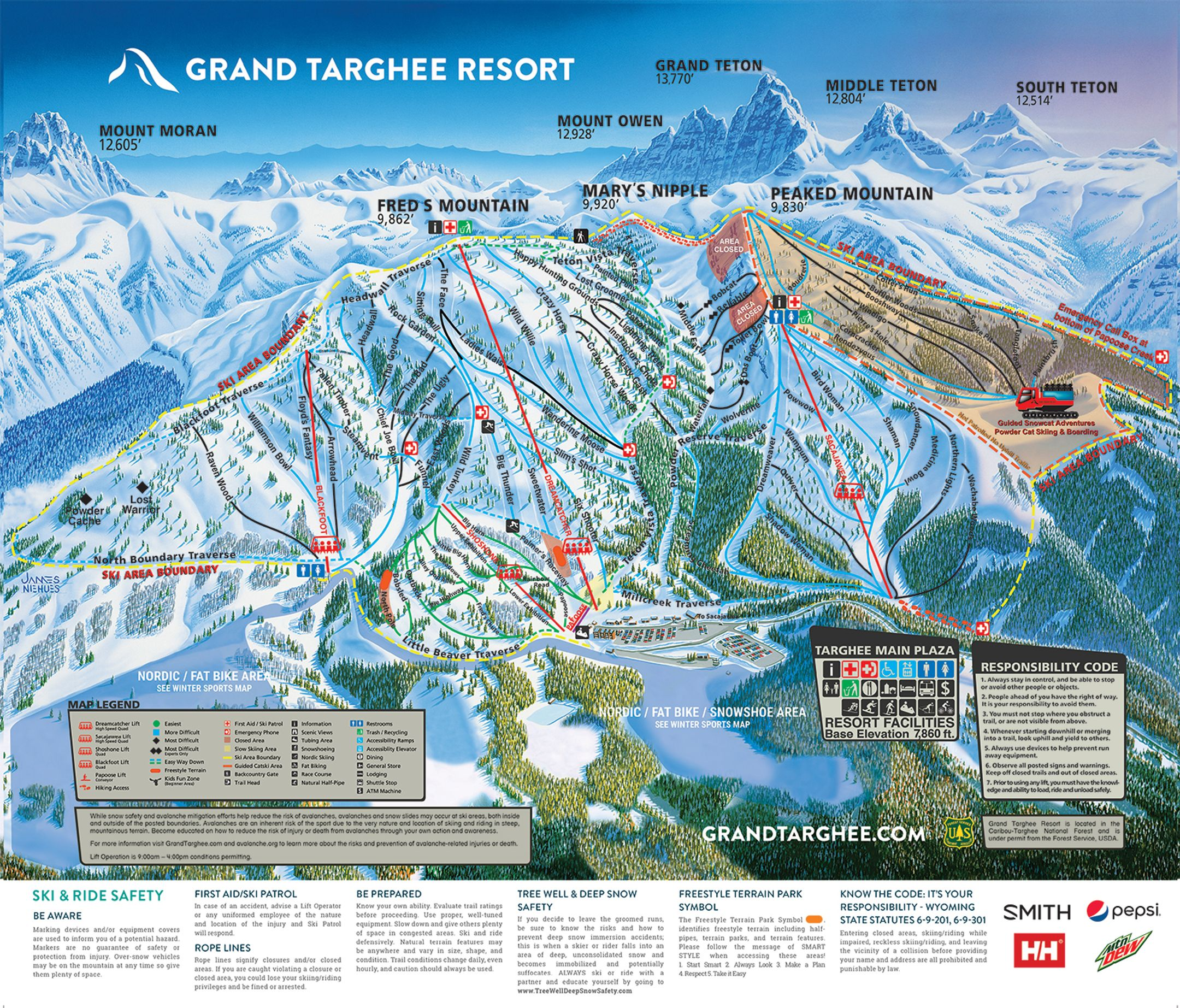 Grand Targhee ski-resort-trail-map United States ripatrip