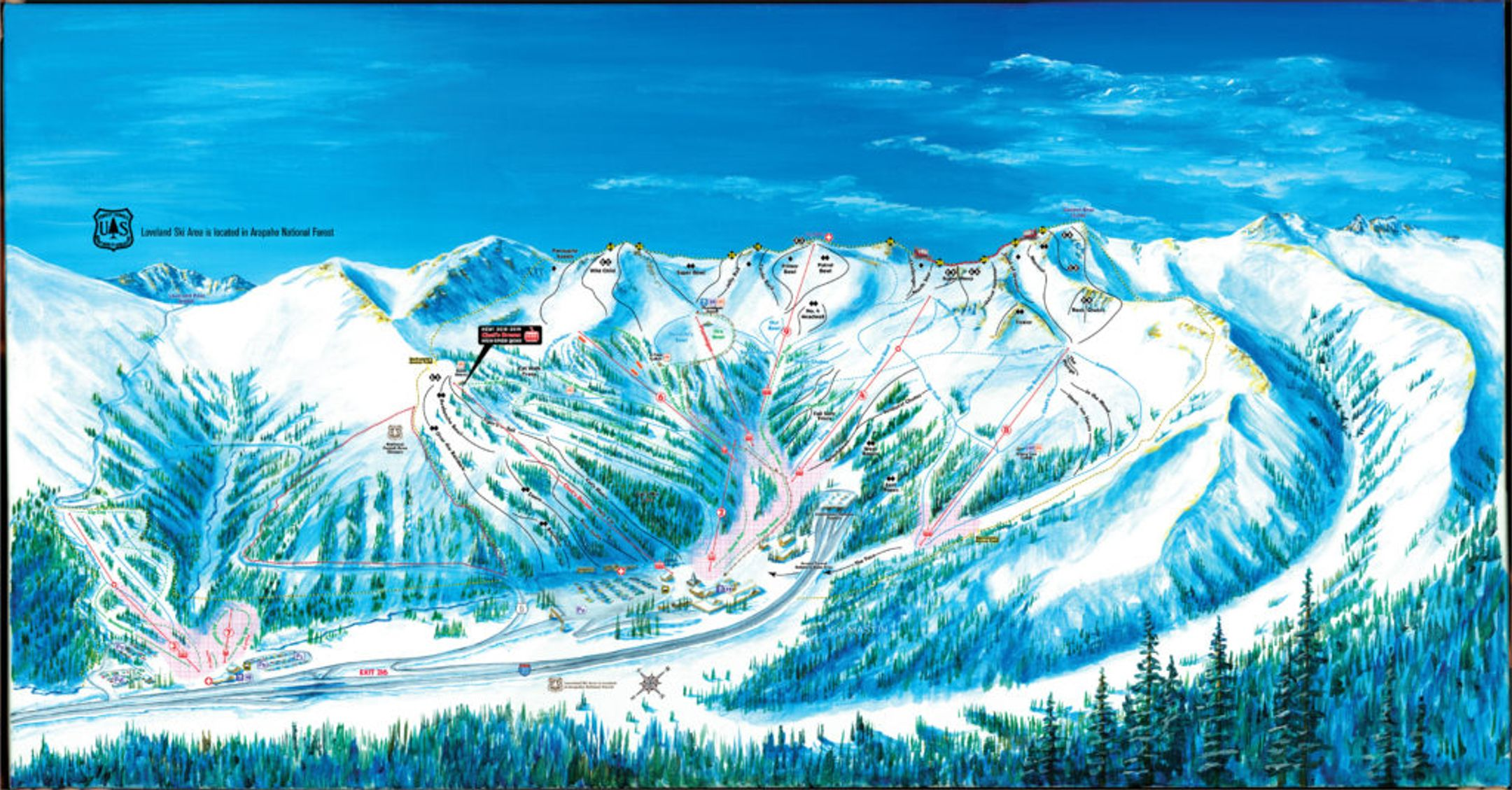 Loveland ski-resort-trail-map United States ripatrip