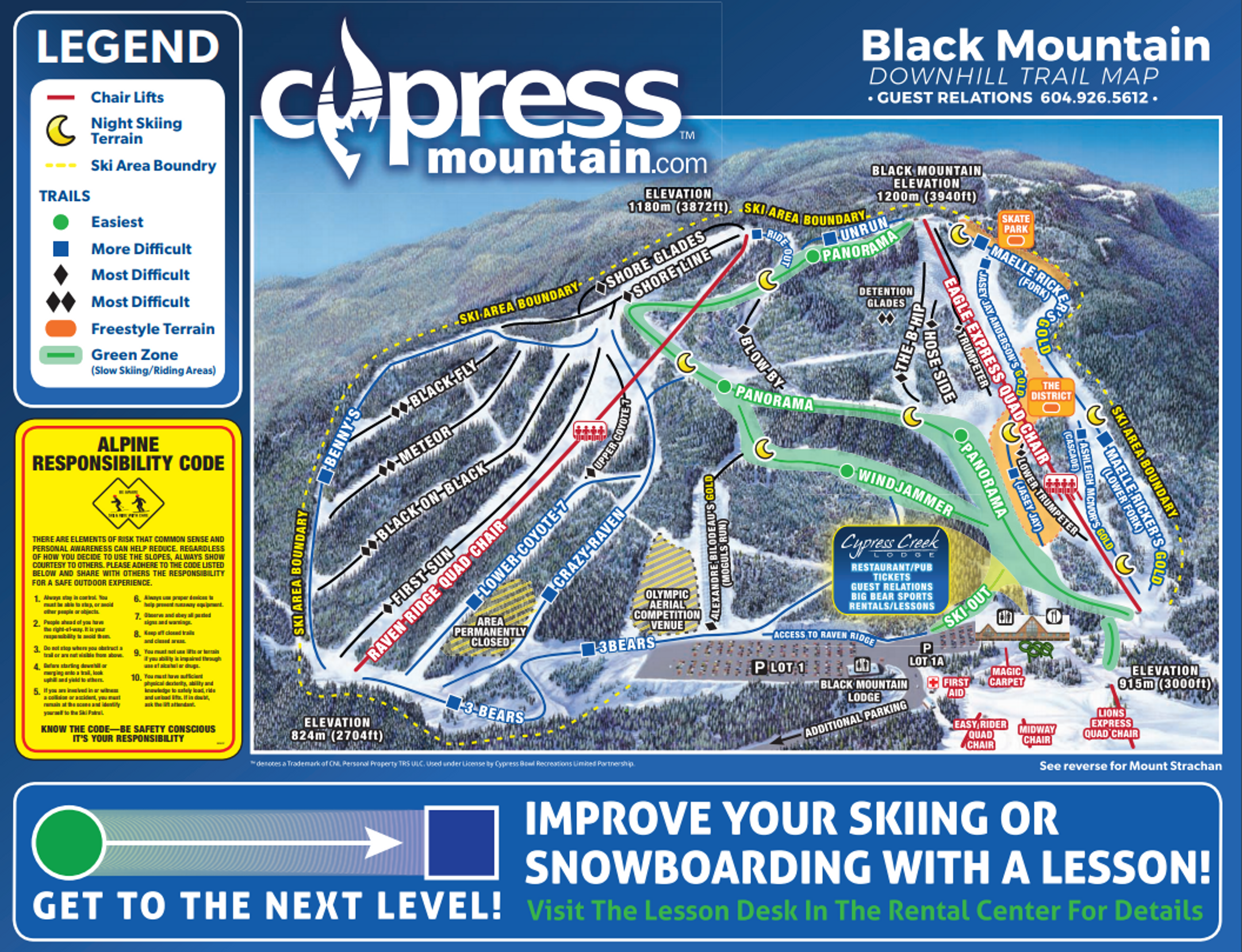 Cypress Mountain ski-resort-trail-map Canada ripatrip