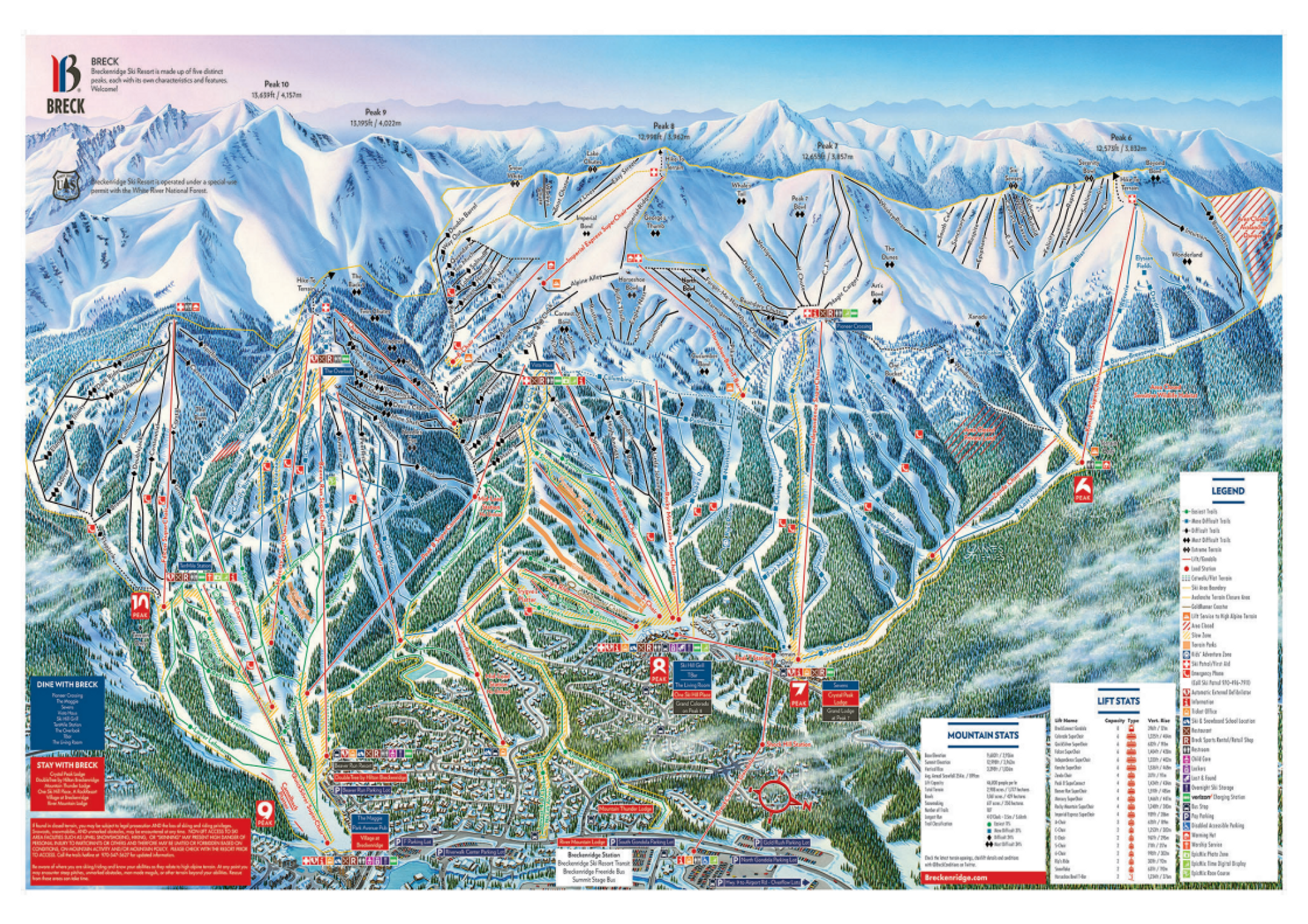 Breckenridge ski-resort-trail-map United States ripatrip