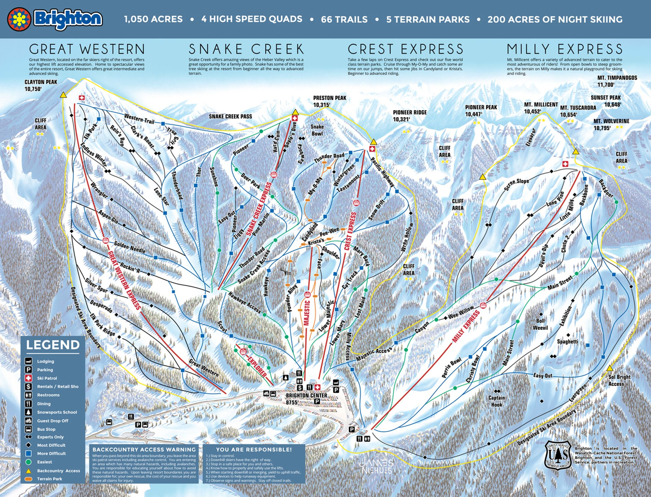 Brighton ski-resort-trail-map United States ripatrip