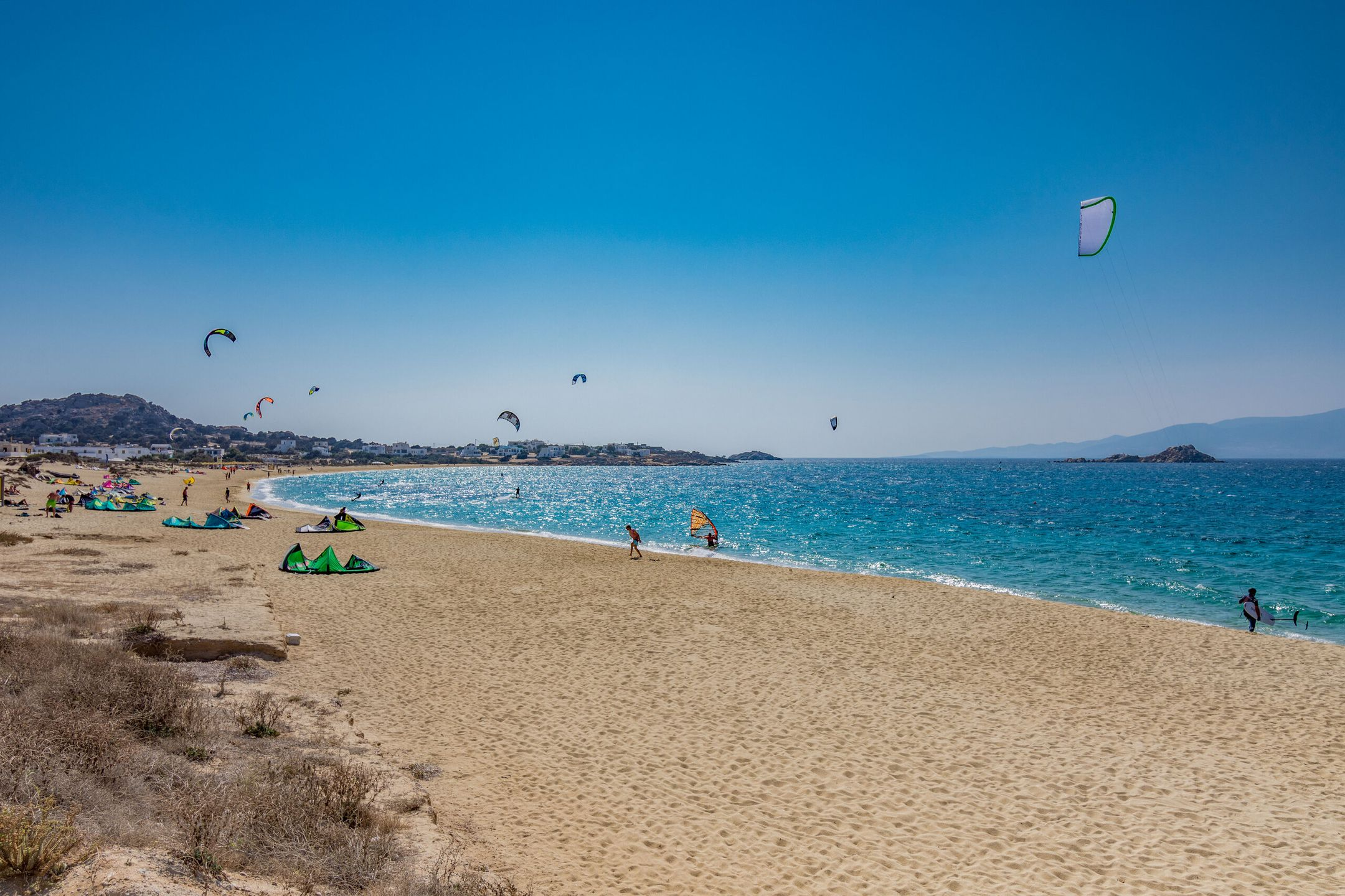 kitesurfing Greece kitespot Naxos ripatrip travel big