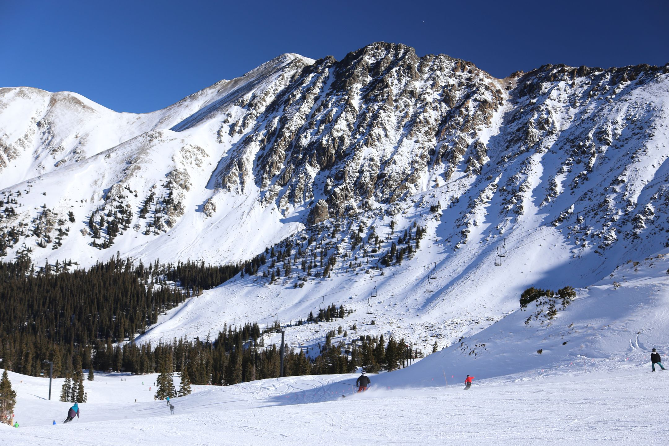 Skiing United States ski resort Arapahoe Basin ripatrip travel big