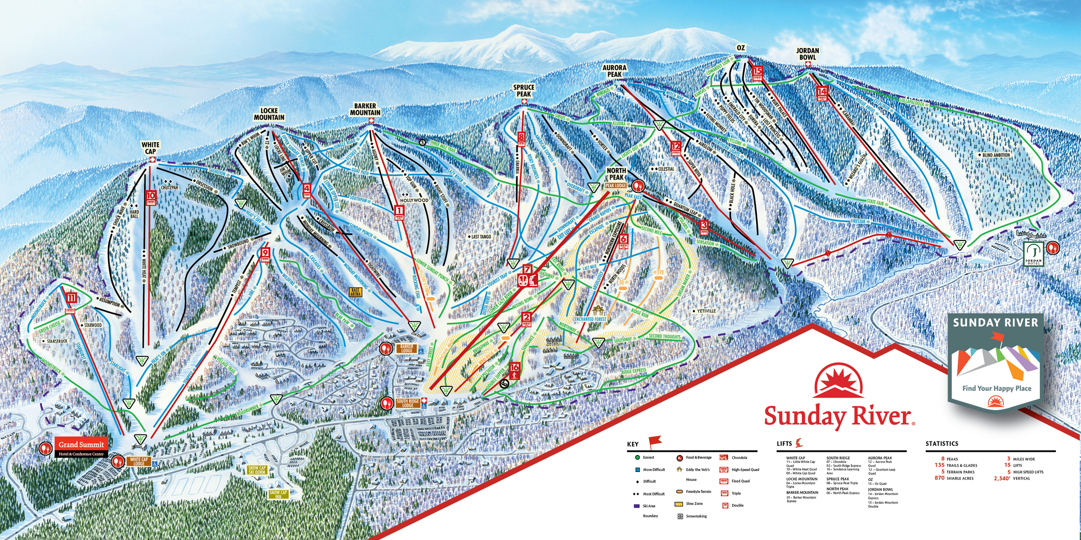Sunday River ski-resort-trail-map United States ripatrip