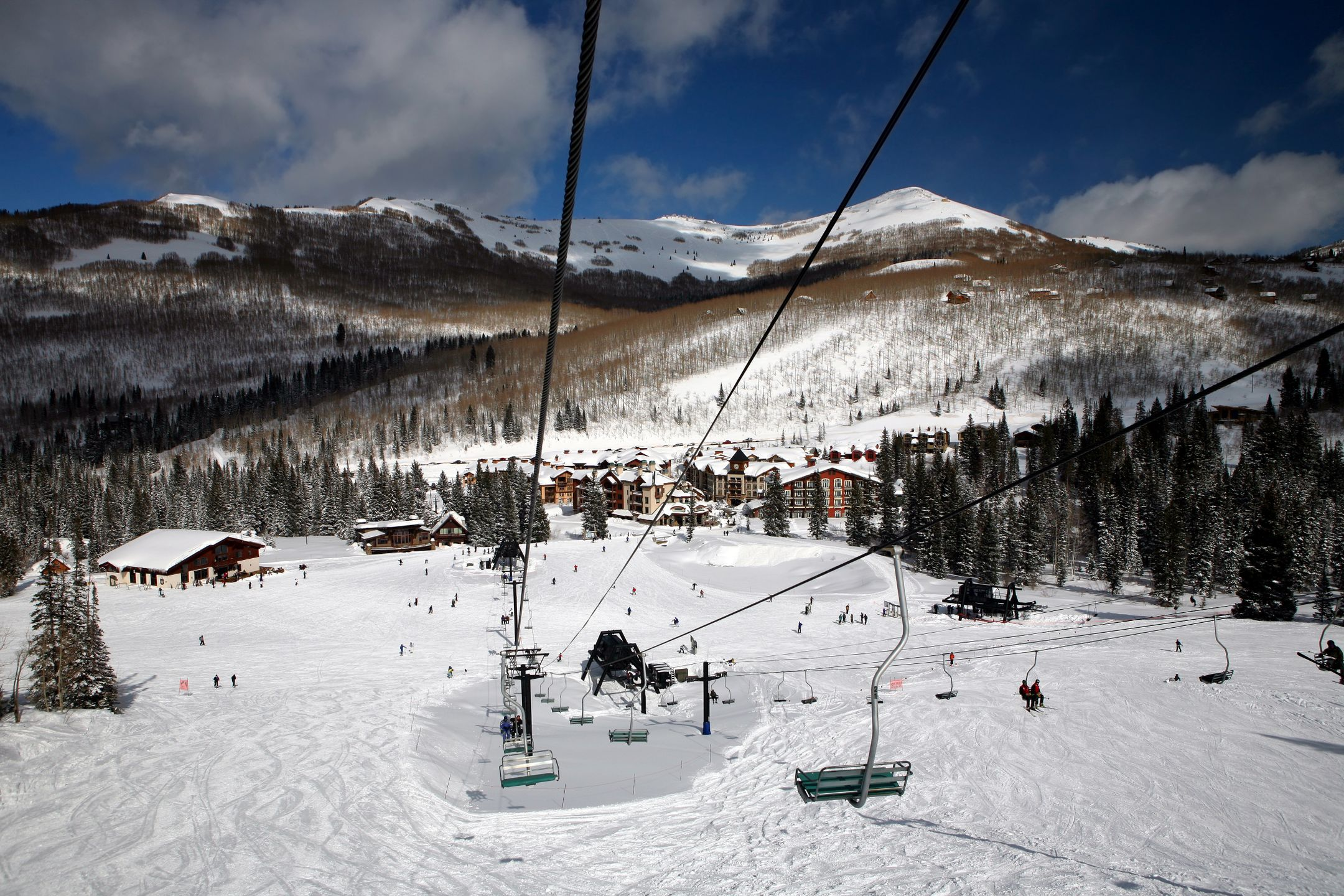 Skiing United States ski resort Solitude ripatrip travel big