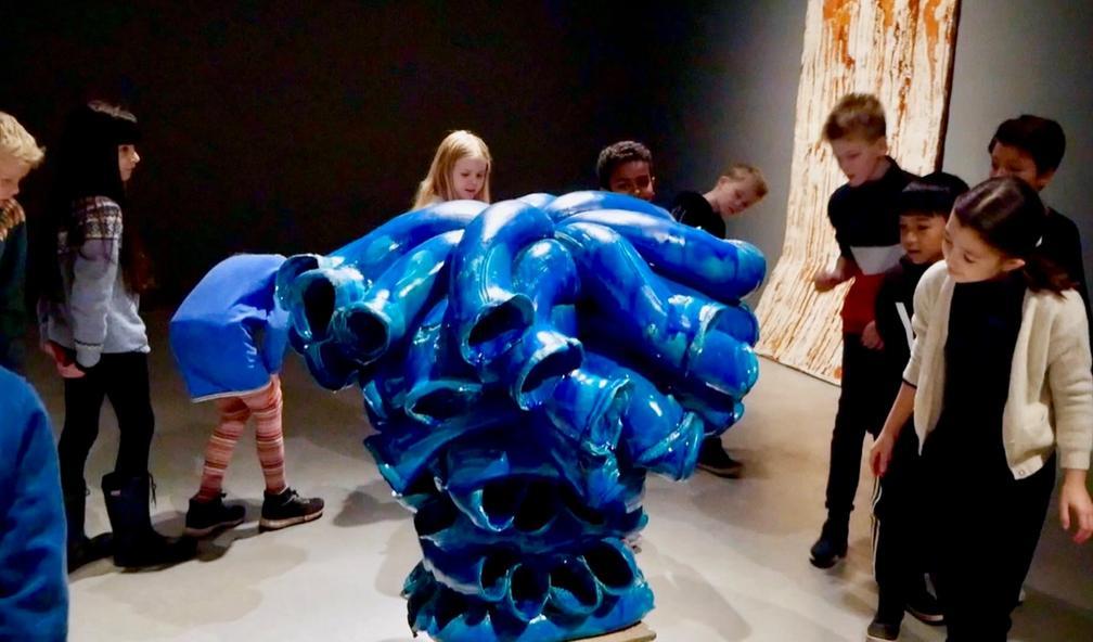 Hvordan formidle kunst til barn?