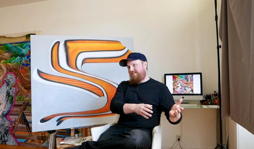 Vincent Langaard om postdigital kunst, internett og gaming