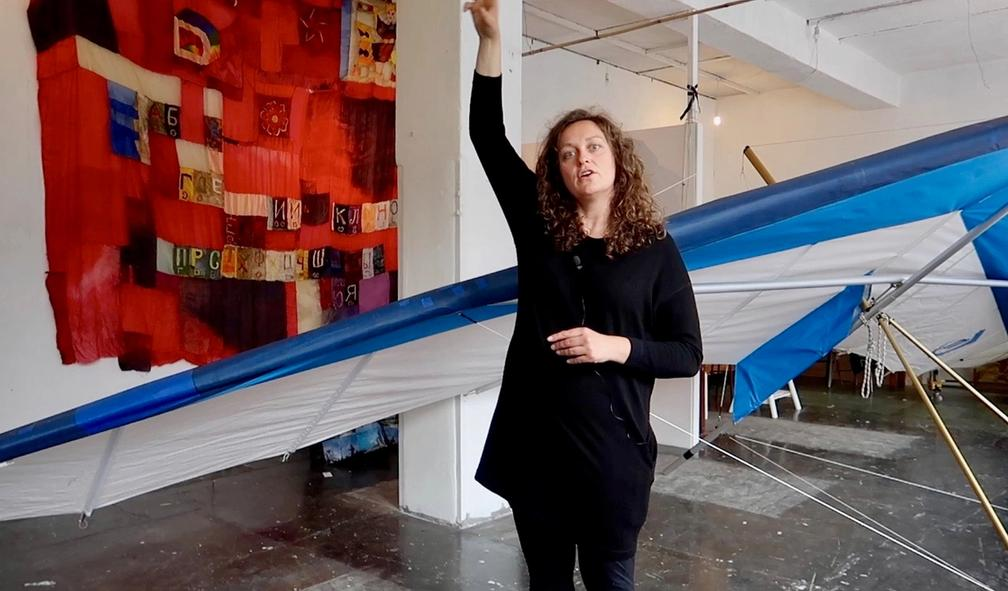 Margrethe Kolstad Brekke eksperimenterer med fornybar energi i kunsten sin