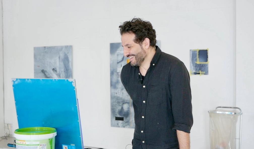 Javier Barrios utsmykker Kjell Inge Røkkes banebrytende forskningsskip REV Ocean