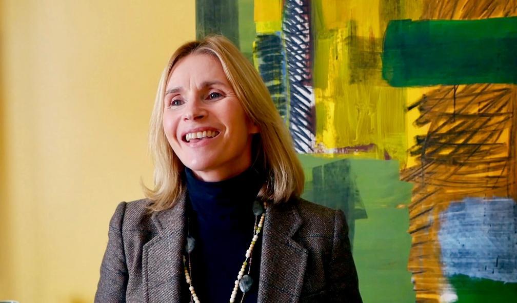 Astrid Øyehaug ville kjøpe kunst, men visste ikke hvor hun skulle begynne