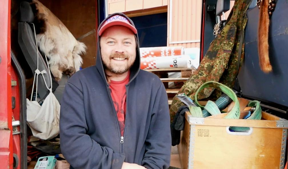 Joar Nango eksperimenterer med samisk arkitektur. Festspillene i Nord-Norge 2/3