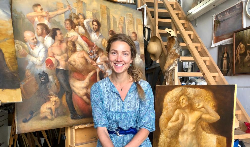 Helene Knoop er en av Norges fremste portrettmalere