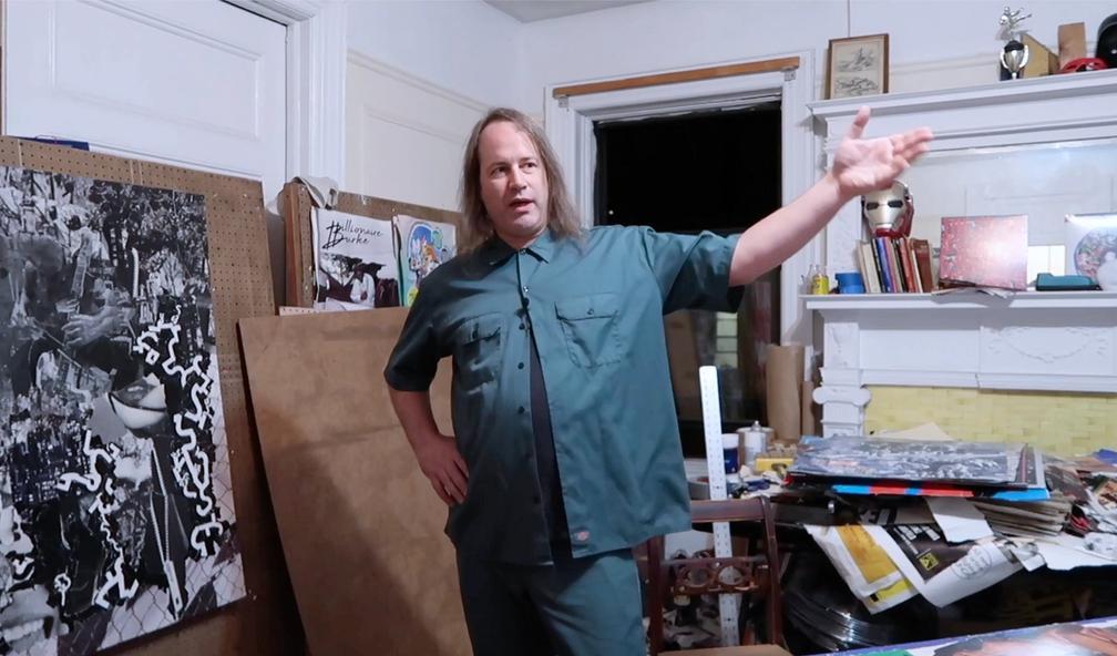 Michael Anderson har verdens største samling av graffiti-klistremerker. New York 2/5