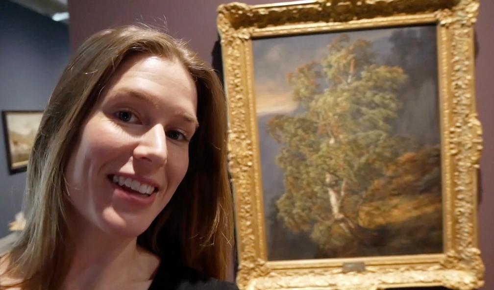KODE Bergen åpnet stor utstilling med Norges store kunstner J.C. Dahl
