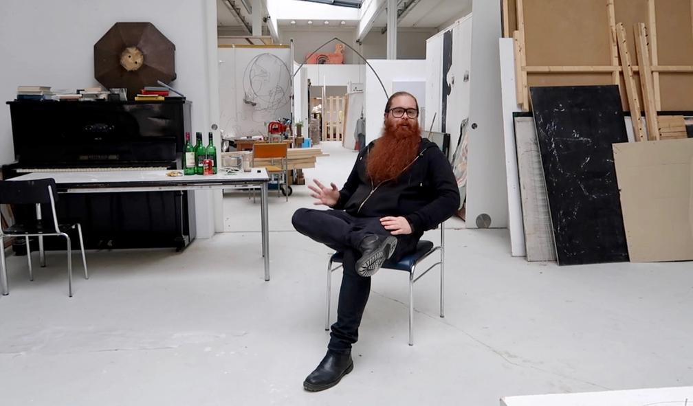 Ole-André Greger Eriksen flyttet til Berlin for å studere kunst