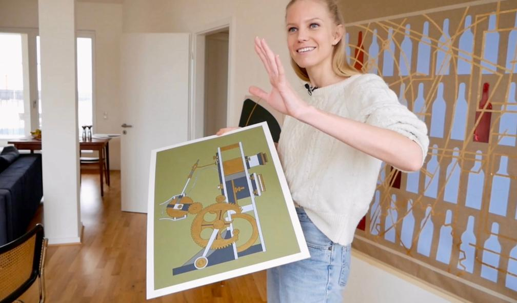 Ragnhild Jevne maler teknologi vi tar for gitt