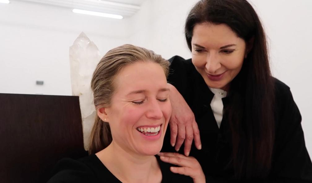Fullstendig starstruck med Marina Abramovic, verdens største performancekunstner