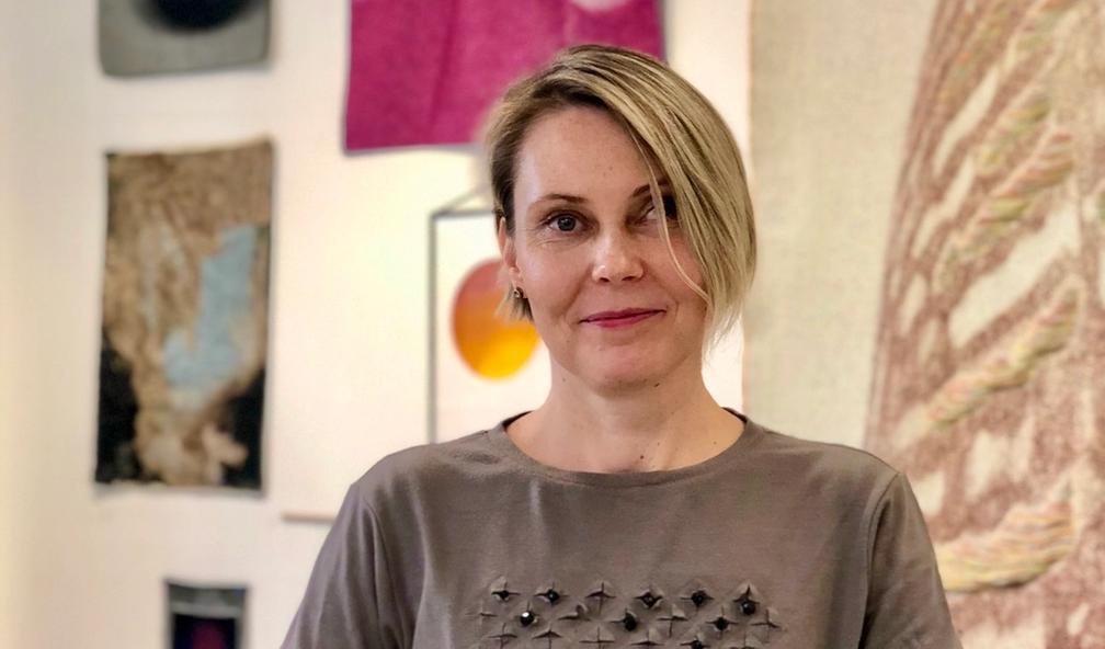 Kristina D. Aas tar tekstilkunst til et nytt nivå med digitalvev