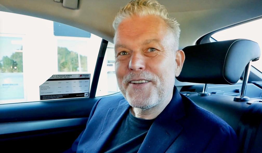 Taxiintervju med Per Barclay, en av Norges fremste samtidskunstnere
