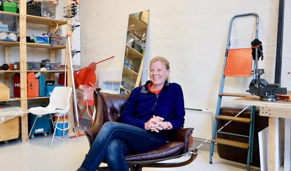 Sara Korshøj Christensen elsker DIY og det uperfekte