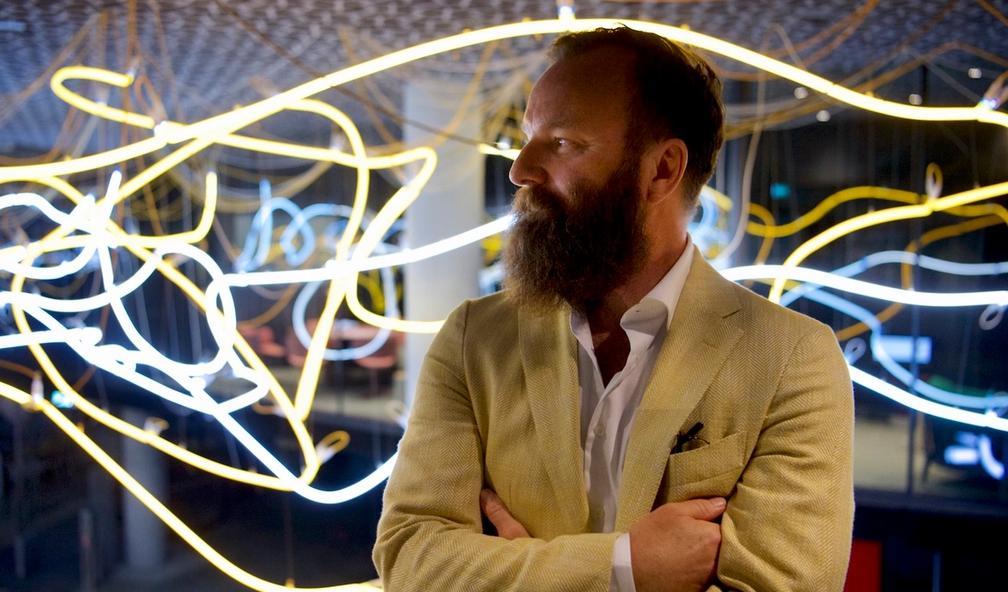 Lars Ø. Ramberg har laget det perfekte kunstverk for Deichman Hovedbibliotek i Bjørvika