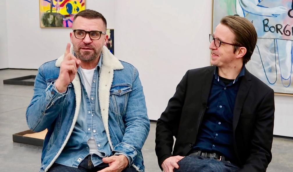 Bjarne Melgaard og Sverre Bjertnæs er to av Norges største nålevende norske kunstnere