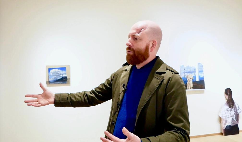 Tom Kosmo tar landskapsmaleriet til et nytt nivå