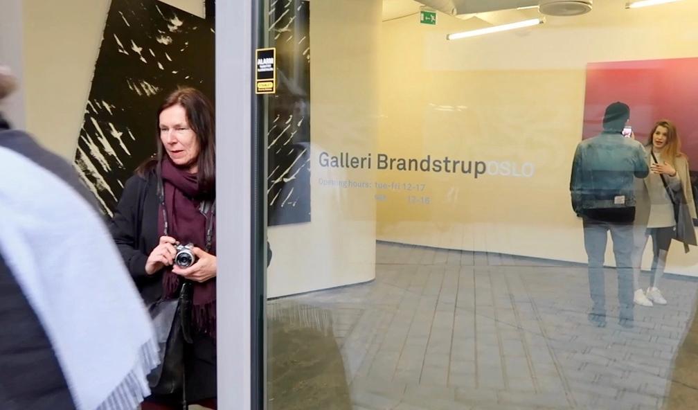 Dolk åpner ny utstilling hos Galleri Brandstrup