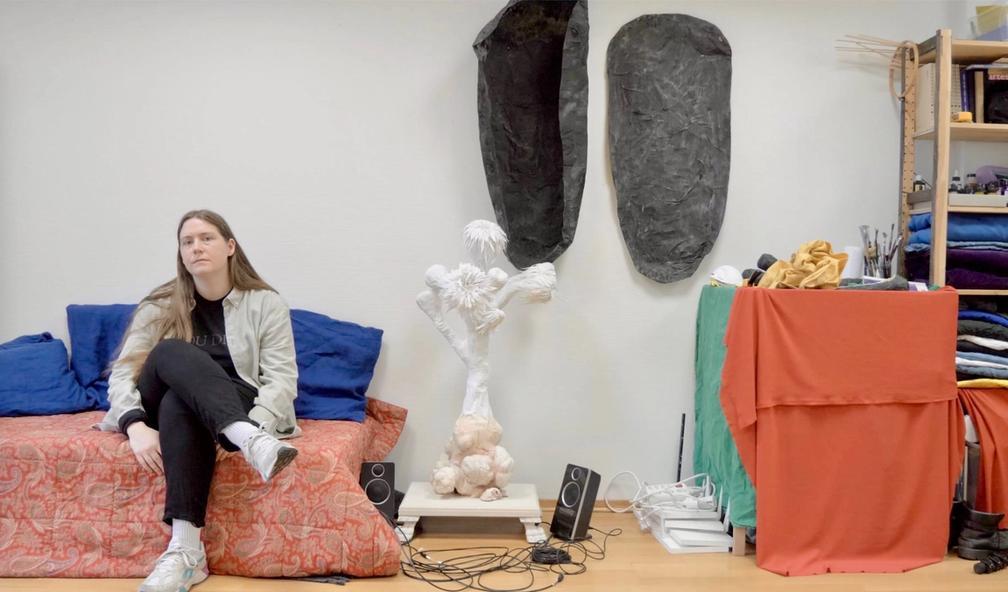 Ingrid Torvund lager Sci-fi-kunst hos Kunsthall Oslo
