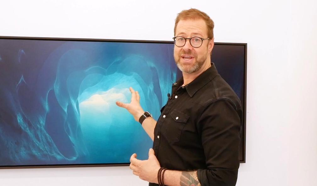 Christian Houge tar klimakunsten til et nytt nivå i utstilling hos Buer Gallery