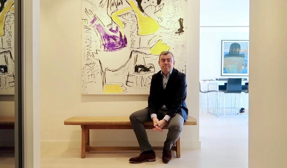 Henning Warloe har sans for den opprørske kunsten