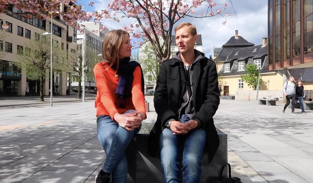 Thomas Alkärr laget ett av fjorårets beste kunstprogram på NRK