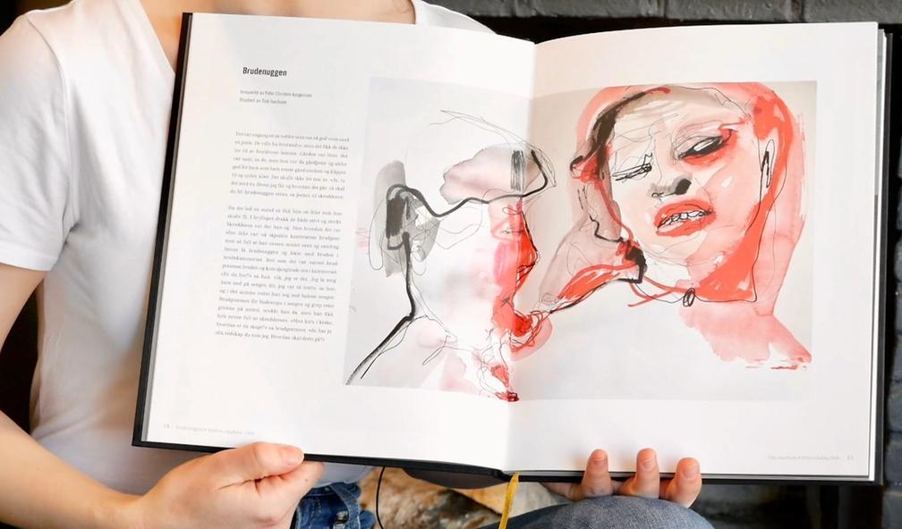 Madicken Schei samlet 36 kunstnere og sensurerte folkeeventyr i boken Syndige folkeventyr