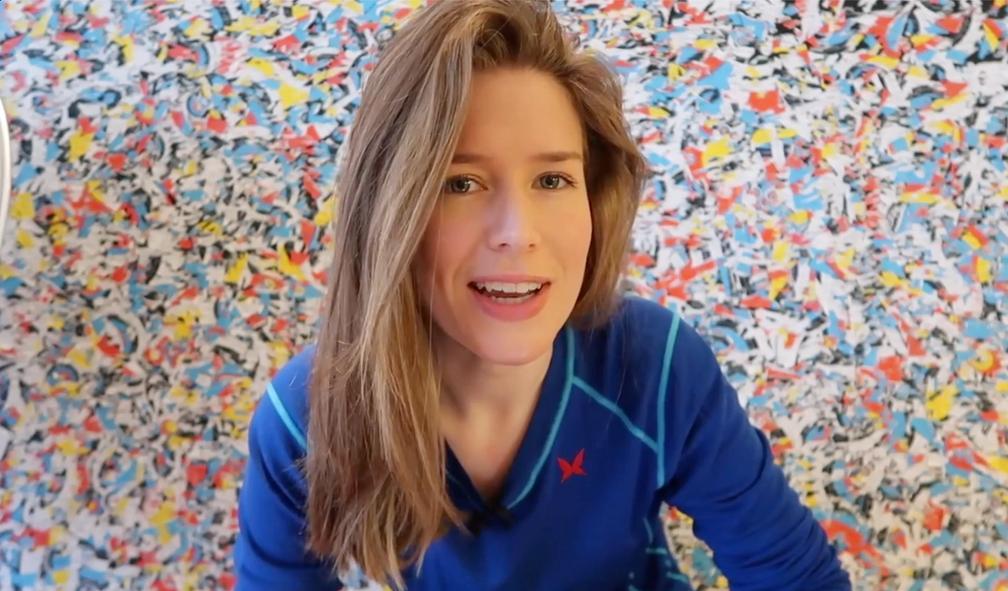 Hvordan har fargen blå brukt i kunsthistorien?