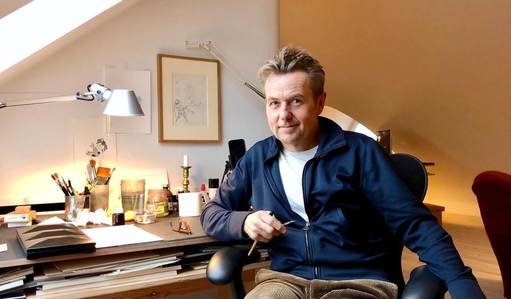 Fredrik Skavlan om kunstnerdrømmen og veivalg i karrieren