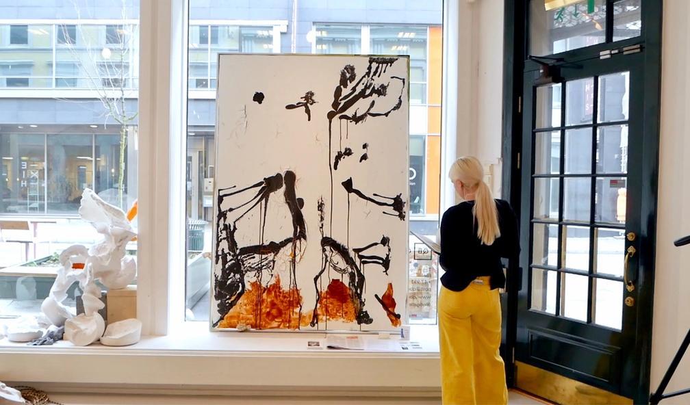 Bo Bisgaard, Marit Følstad og Ole Jørgen Ness skyver QB Gallery ut av komfortsonen