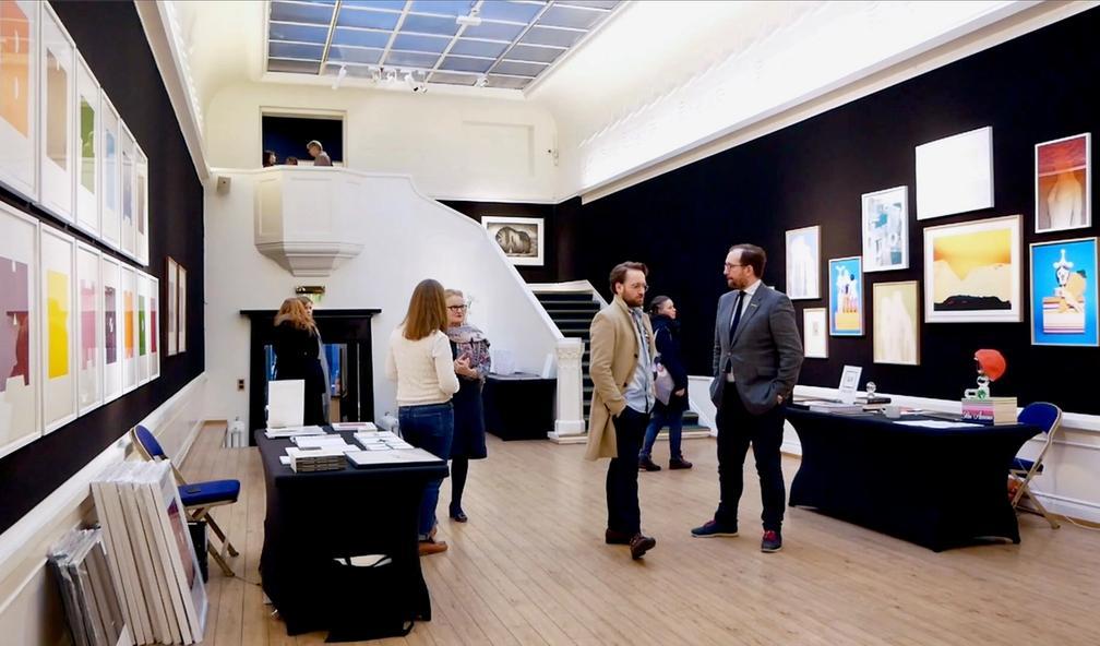 Norges eneste kunstmesse, Oslo grafikkmesse hos Blomqvist Kunsthandel