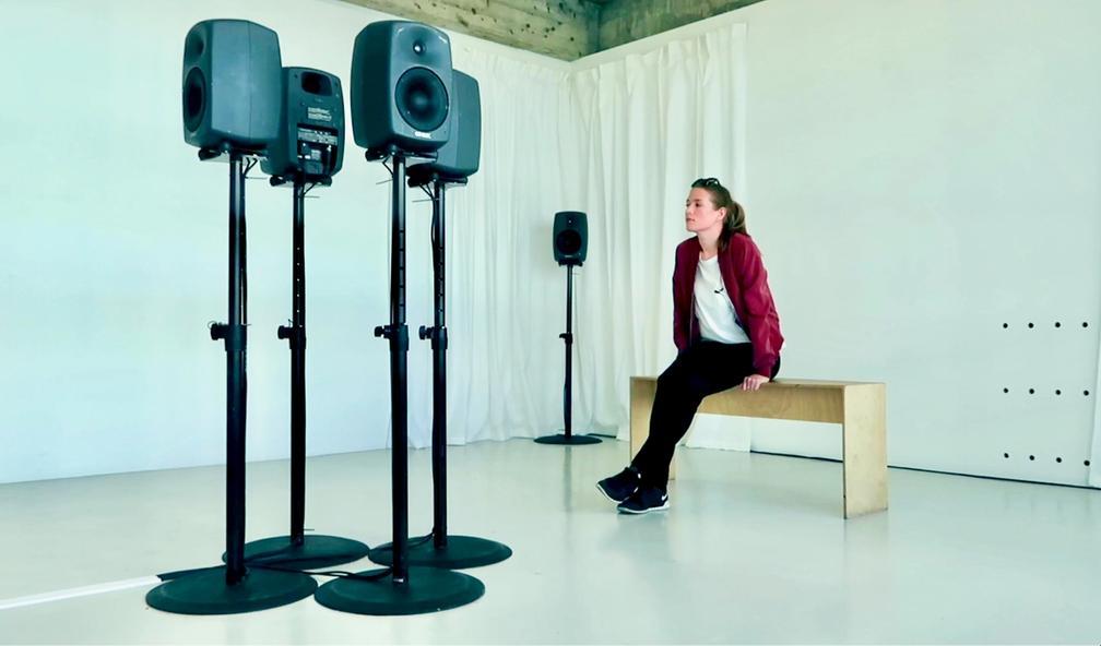Jiska Huizing om lydkunst hos Lydgalleriet i Bergen