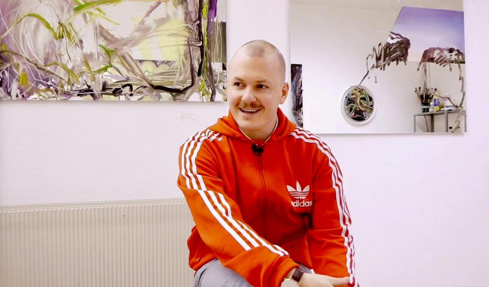Ruben Eikebø går fra å være kunststudent til selvstendig næringsdrivende