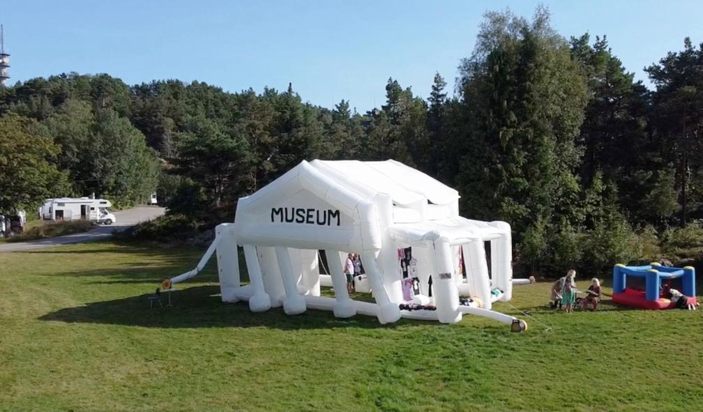 Det oppblåsbare museum
