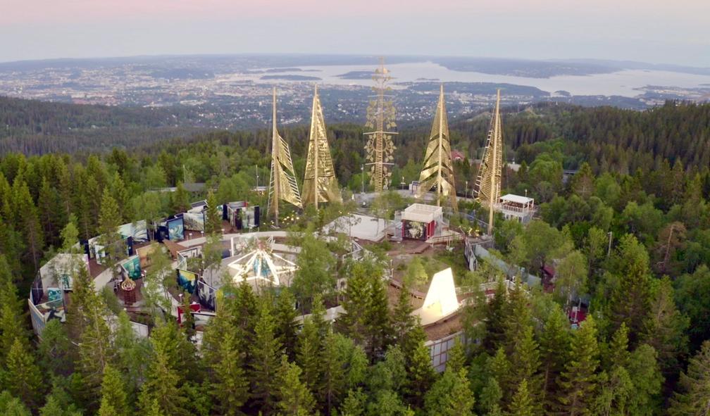 Vebjørn Sand og Eimund Sand lager Roseslott til 50 millioner kroner i Holmenkollen